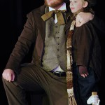 Cratchit and Tiny Tim.