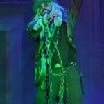 Jacob Marley, Scrooge's dead partner.