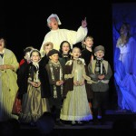 The Angel Children join with him to sing of a brighter future of love.